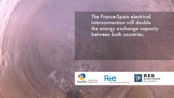 Embedded thumbnail for End of the digging of the tunnel for the France-Spain electrical interconnection